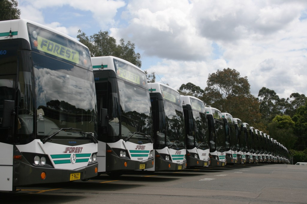 CT Fleet Wash Buses